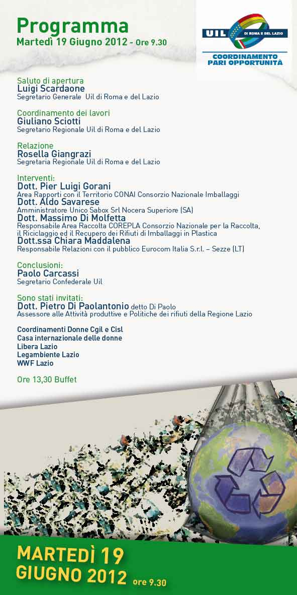 Per una regione sostenibile eurocomitalia alla manifes for Arredi ecologici