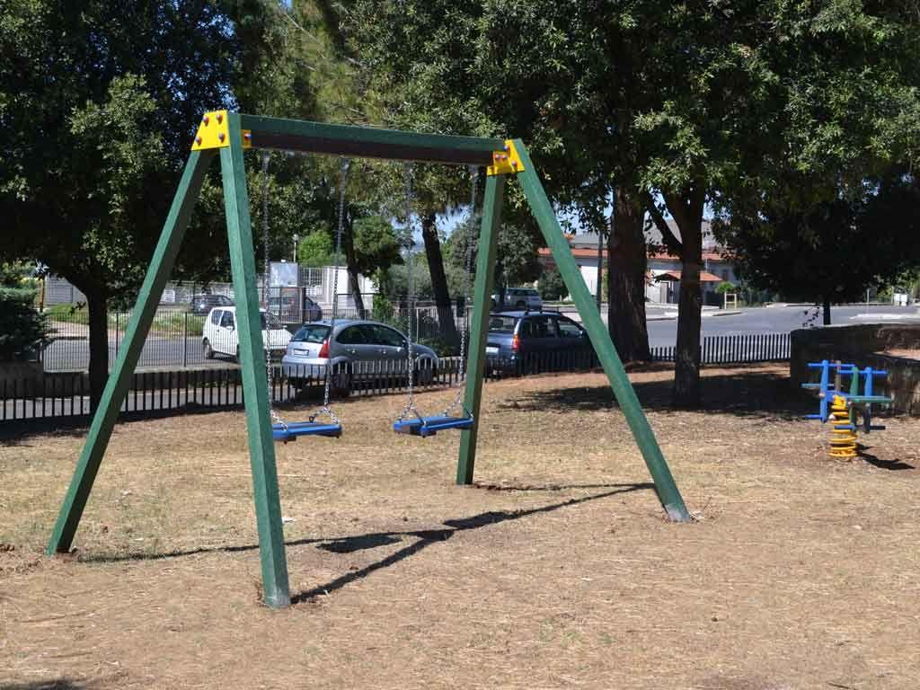Altalena in Strongplast presso parco Cottiglioni