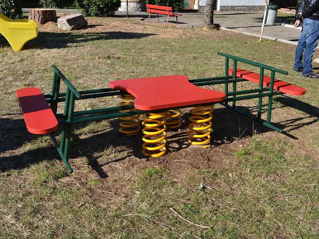 Bilimolla maxi in Strongplast, installato nel Comune di Terracina