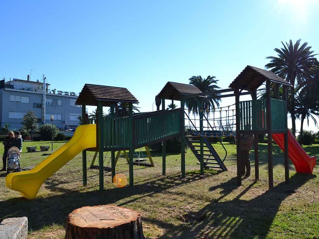 Struttura Combi PLUS in Strongplast, installata presso il Comune di Terracina