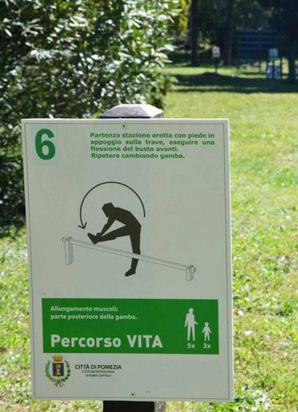 percorso vita strongplat plastica riciclata trave