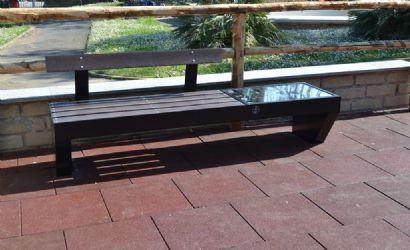 Panchina ViVa smart parco verde