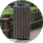 Cestini e cestoni ecologici