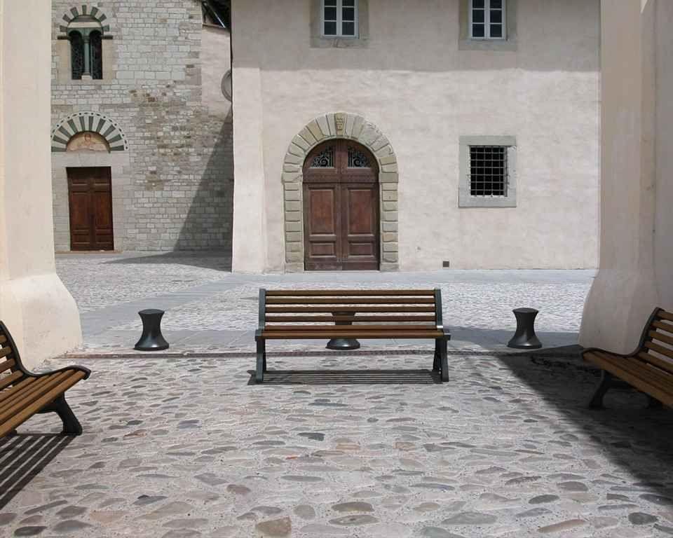 Panchina Italia - dettaglio misure