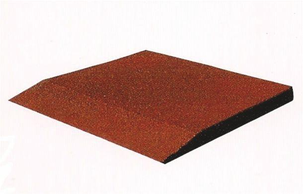 Pavimentazione antitrauma in gomma riciclata - prospetto
