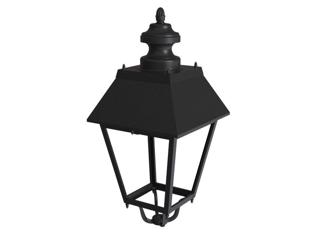 Lanterna in pressofusione di alluminio con ottica LED