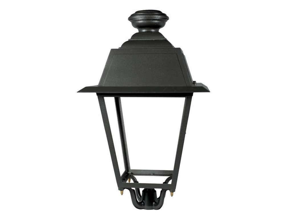 Lanterna in pressofusione di alluminio IP66 anti inquinamento luminoso per lampade a scarica