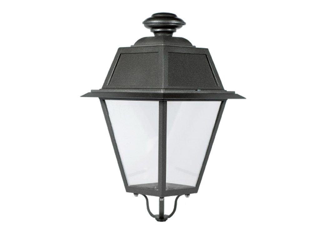 Lanterna classica quadrata media in pressofusione di alluminio