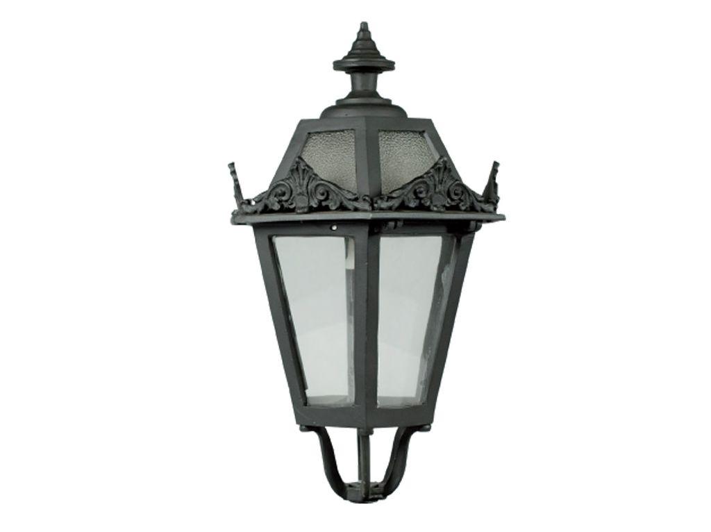 Lanterna in alluminio esagonale media