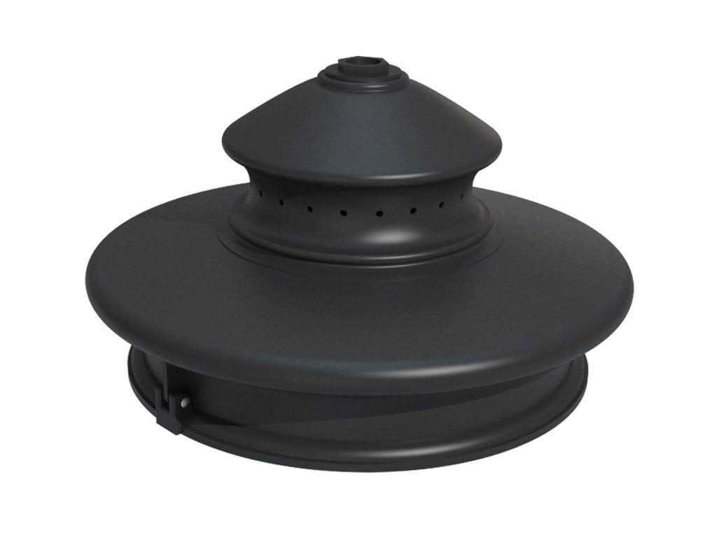 Lanterna artistica in alluminio con ottica LED S-light - 25W - 5400 lumen - 3k - ottica asimmetrica.