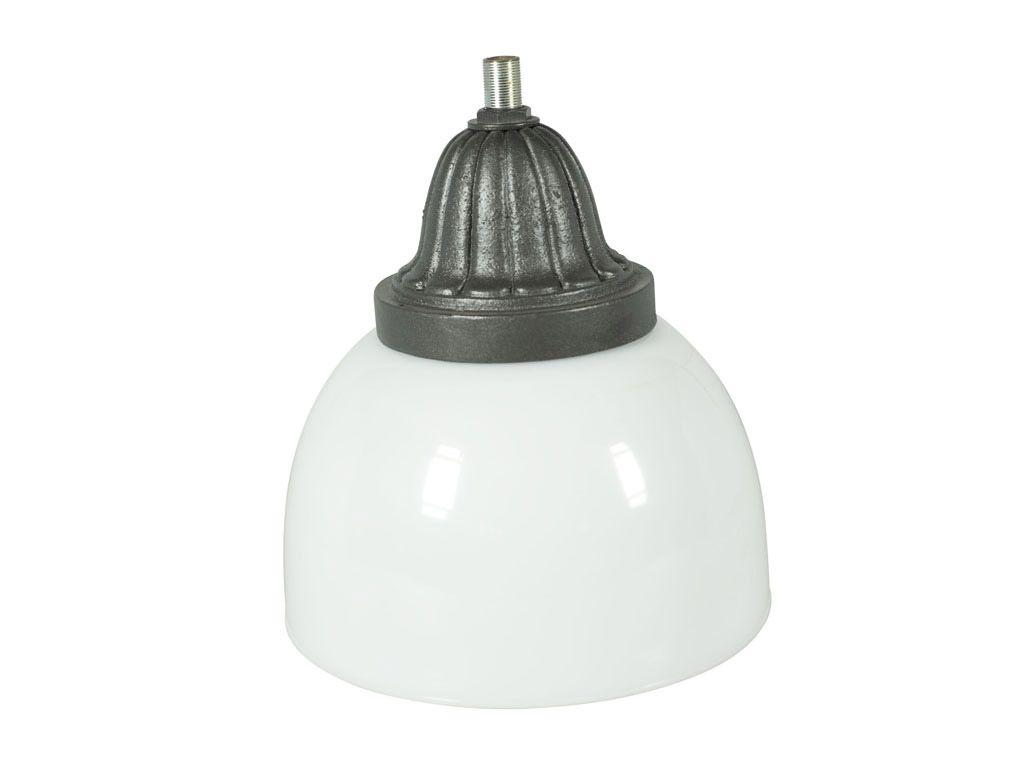 Gonnella per illuminazione con protezione in PMMA diametro 400 mm e suporto in alluminio