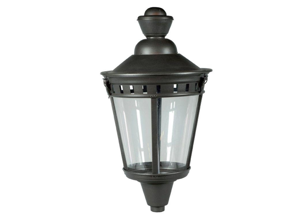 Lanterna tipo Campidoglio in lastra di alluminio CUT OFF piccola