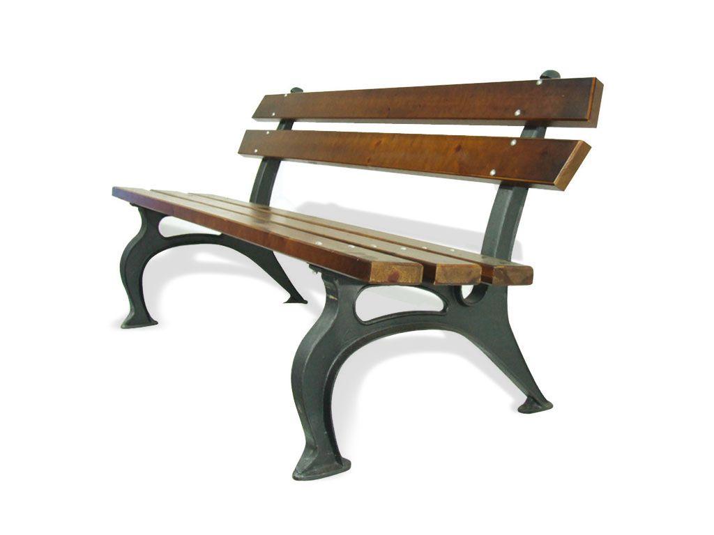 Panchina tipo Firenze con listoni in legno Pino smontata
