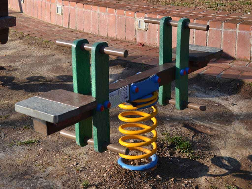 Bilimolla a due posti in STRONGPLAST - plastica riciclata post consumo