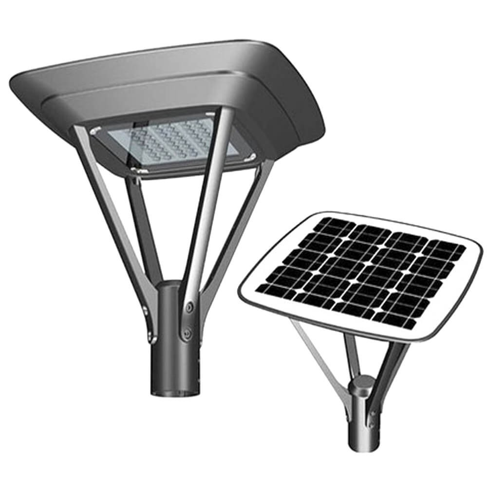 Lanterna solare per illuminazione viale tipo SOLARIS TOP