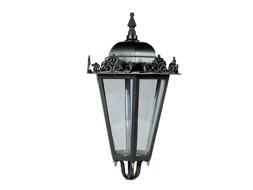 Lanterna esagonale piccola in pressofusione di alluminio