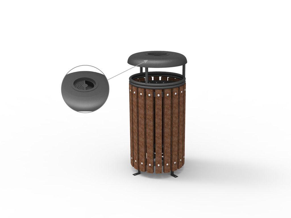 Giochi e arredi in plastica riciclata cestini ecologici for Arredi ecologici