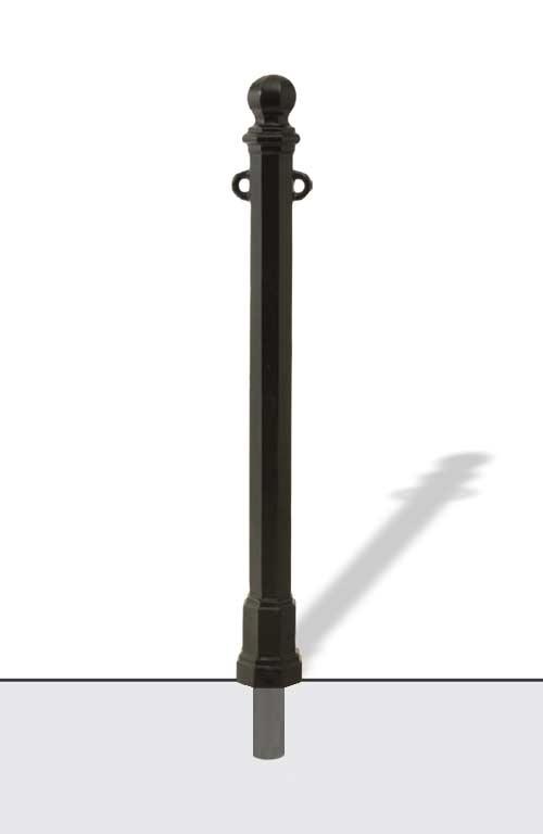 Cast iron bollard Sele