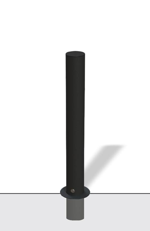 Dissuasore in acciaio tipo FLASH - con accessorio estraibile