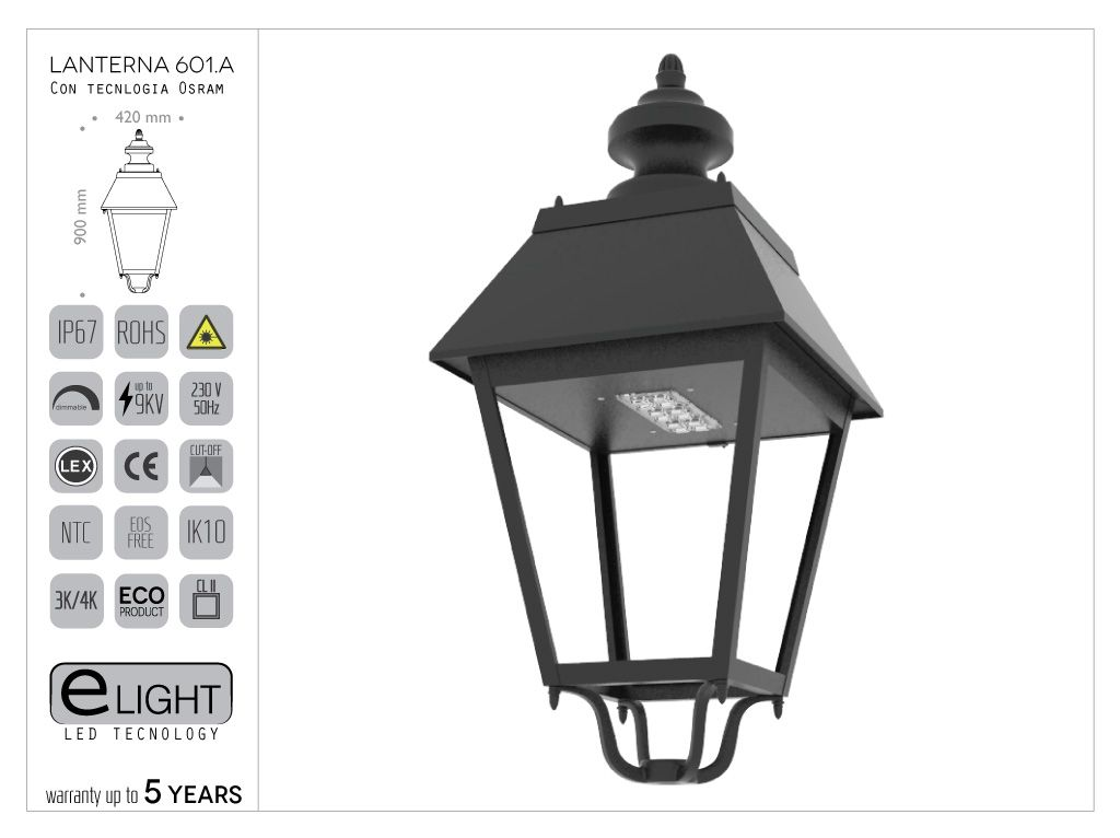 Lanterna 601.A.LO
