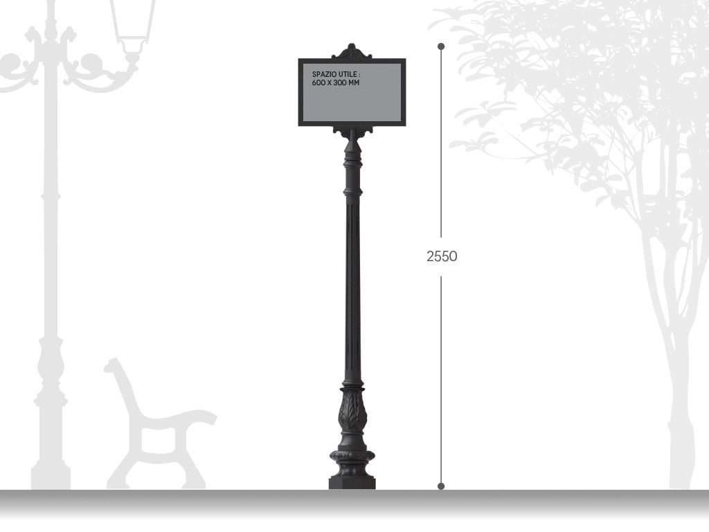 Artistic signpost