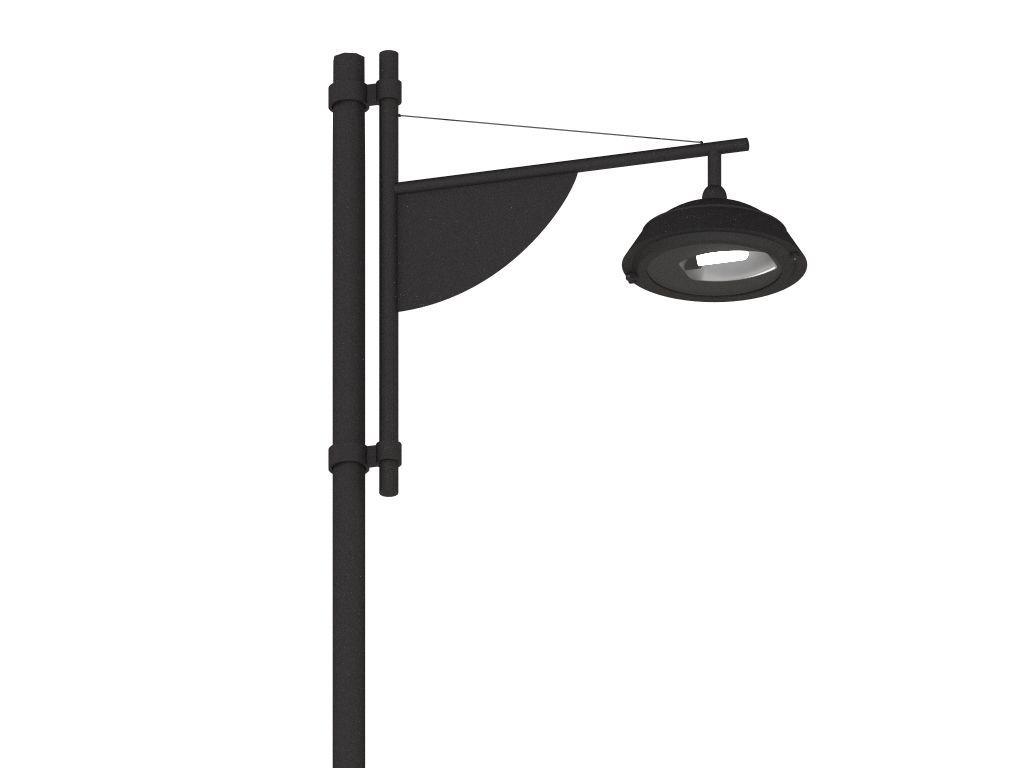 Palo SKY a un braccio per rotatorie