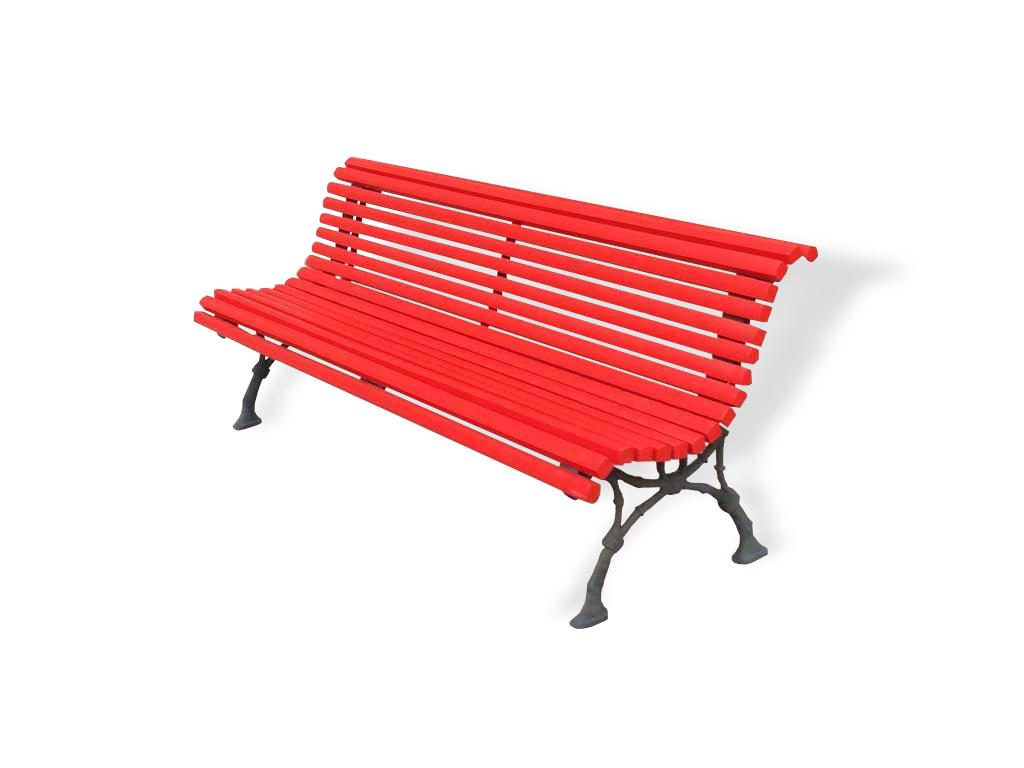 Altezza Panchina Da Terra : Panchina napoli con piedi in fusione in alluminio e listoni