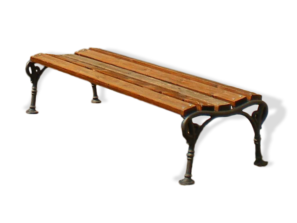 Panchina Vienna.SS con listoni in legno Pino fornita montata