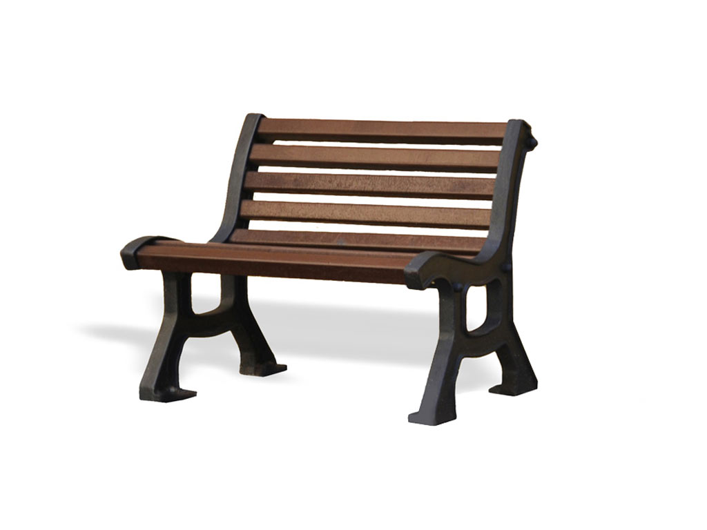 ECO bench with reinforced Strongplast planks