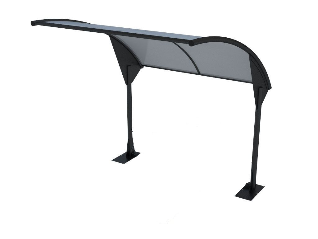 Modern bus shelter or cycle shelter