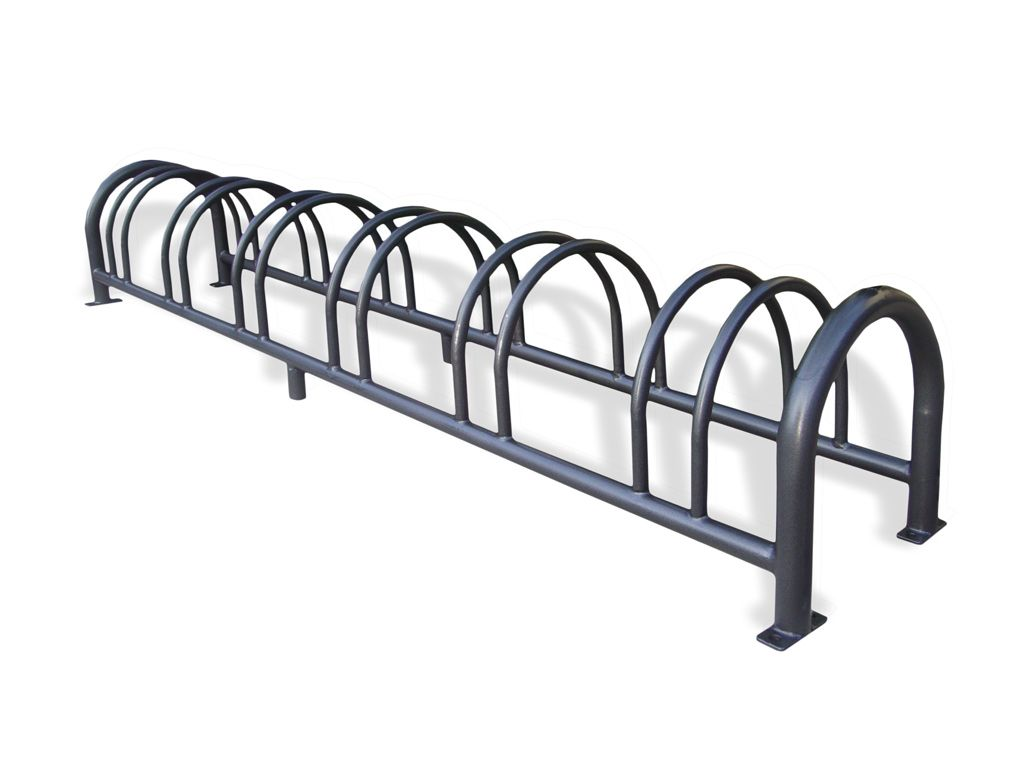 cod. 350101 - Artistic steel 6 slot cycle rack Economic