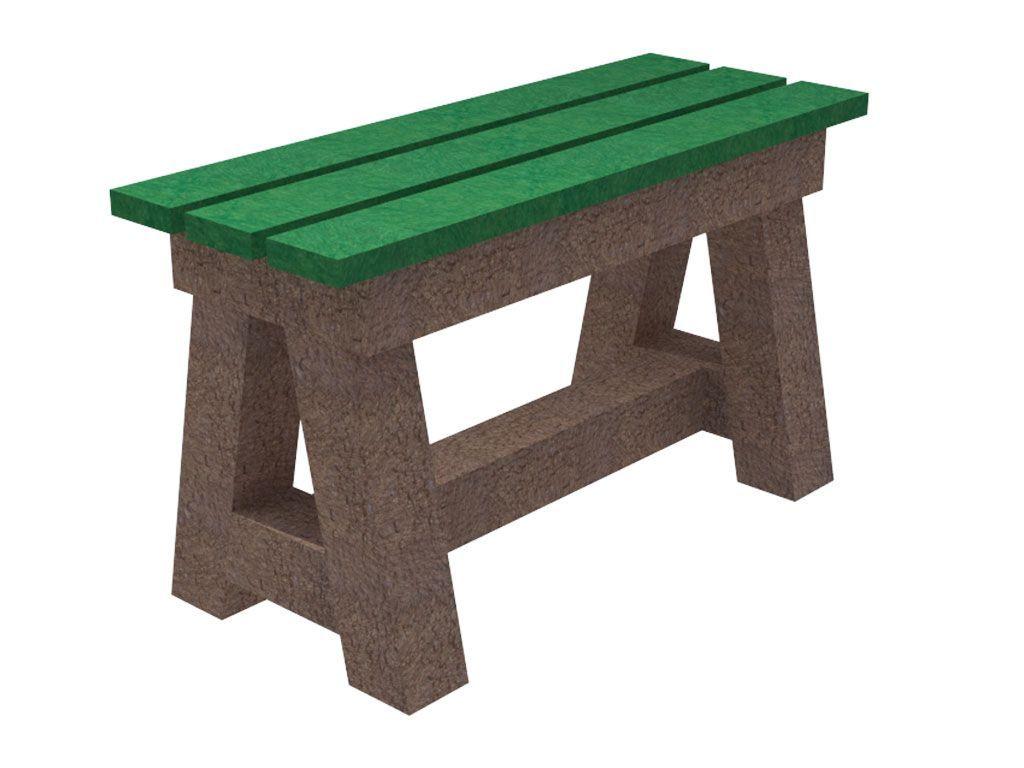 Giochi e arredi in plastica riciclata tavoli e panche for Panchine in plastica riciclata